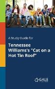 "Cover-Bild zu A Study Guide for Tennessee Williams's ""Cat on a Hot Tin Roof"" von Gale, Cengage Learning"