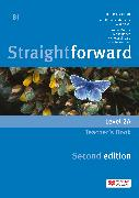 Cover-Bild zu Straightforward split edition Level 2 Teacher's Book Pack A von Scrivener, Jim