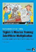 Cover-Bild zu Täglich 5 Minuten Training: Schriftliche Multiplikation von Hohmann, Karin
