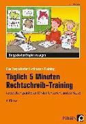 Cover-Bild zu Täglich 5 Minuten Rechtschreib-Training 4. Klasse von Hohmann, Karin