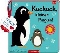 Cover-Bild zu Arrhenius, Ingela (Illustr.): Mein Filz-Fühlbuch: Kuckuck, kleiner Pinguin!