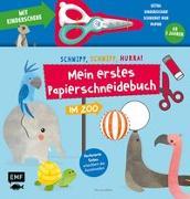 Cover-Bild zu Mein erstes Papierschneidebuch - Im Zoo - Mit Kinderschere