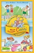 Cover-Bild zu Boehme, Julia: Vier Conni-Geschichten zum Lesenlernen: Conni und der Frechdachs / Conni ist nicht feige / Conni und der verlorene Drachen / Conni reist zu den Sternen