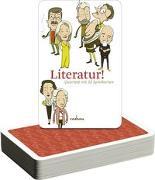 Cover-Bild zu Literatur! Quartett von Mahrenholtz, Katharina