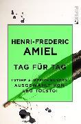 Cover-Bild zu Tag für Tag von Amiel, Henri-Frederic