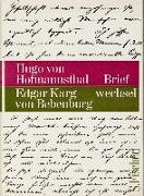 Cover-Bild zu Briefwechsel von Hofmannsthal, Hugo