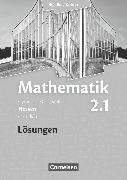 Cover-Bild zu Bigalke/Köhler: Mathematik, Hessen - Bisherige Ausgabe, Band 2.1: Grundkurs - 1. Halbjahr, Lösungen zum Schülerbuch von Bigalke, Anton
