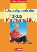 Cover-Bild zu Fokus Mathematik, Bayern - Bisherige Ausgabe, 7. Jahrgangsstufe, Schulaufgabentrainer mit Lösungen von Wagner, Anton