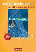 Cover-Bild zu Fokus Mathematik, Nordrhein-Westfalen - Bisherige Ausgabe, 9. Schuljahr, Klassenarbeitstrainer mit eingelegten Musterlösungen von Leßmann, Jochen
