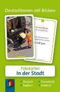Cover-Bild zu Deutschlernen mit Bildern: In der Stadt von Redaktionsteam Verlag an der Ruhr