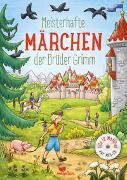 Cover-Bild zu Meisterhafte Märchen der Brüder Grimm, mit MP3-CD von Grimm, Jacob und Wilhelm
