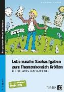 Cover-Bild zu Lebensnahe Sachaufgaben zum Themenbereich Größen von Barkhausen, Christian