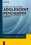 Cover-Bild zu Sher, Leo (Hrsg.): Adolescent Psychiatry (eBook)