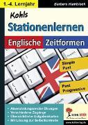 Cover-Bild zu Kohls Stationenlernen Englische Zeitformen 2 (eBook) von Hamblock, Barbara