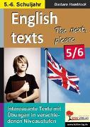Cover-Bild zu English texts - The next, please. / Klasse 5-6 (eBook) von Hamblock, Barbara