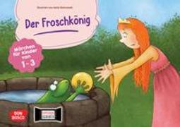 Cover-Bild zu Der Froschkönig. Kamishibai Bildkartenset von Grimm, Brüder