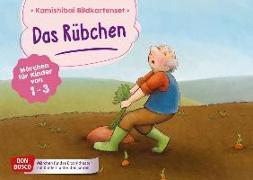 Cover-Bild zu Das Rübchen. Kamishibai Bildkartenset von Bohnstedt, Antje (Illustr.)