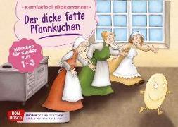 Cover-Bild zu Der dicke fette Pfannkuchen. Kamishibai Bildkartenset von Bohnstedt, Antje (Illustr.)