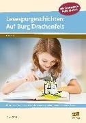Cover-Bild zu Lesespurgeschichten: Auf Burg Drachenfels von Mönning, Petra