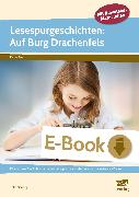 Cover-Bild zu Lesespurgeschichten: Auf Burg Drachenfels (eBook) von Mönning, Petra