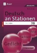 Cover-Bild zu Deutsch an Stationen SPEZIAL Textsorten 7-8 von Röser, Winfried