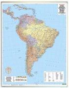 Cover-Bild zu Südamerika physisch-politisch, Magnetmarkiertafel 1:8 Mill. 1:8'000'000 von Freytag-Berndt und Artaria KG (Hrsg.)