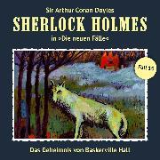 Cover-Bild zu Freund, Marc: Sherlock Holmes, Die neuen Fälle, Fall 15: Das Geheimnis von Baskerville Hall (Audio Download)