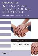 Cover-Bild zu Sparrow, Paul: Handbook of International Human Resource Management