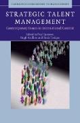 Cover-Bild zu Sparrow, Paul (Hrsg.): Strategic Talent Management (eBook)