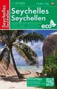 Cover-Bild zu Seychellen, Freizeitkarte 1 : 50 000. 1:50'000