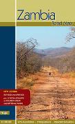 Cover-Bild zu Zambia Road Map. 1:11'500'000 von Vachal, Manfred (Prod.)