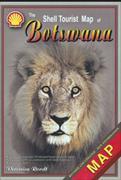 Cover-Bild zu The Shell Tourist Map of Botswana von Roodt, Veronica