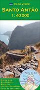 Cover-Bild zu Cabo Verde: Santo Antão. 1:40'000 von Fortes, Lucete