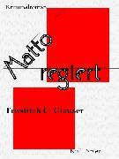 Cover-Bild zu Glauser, Friedrich C.: Matto regiert (eBook)
