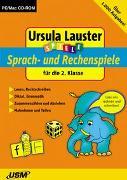 Cover-Bild zu 2. Klasse: Sprach- und Rechenspiele für die 2. Klasse - Spiele. Fit für den Übertritt von Lauster, Ursula