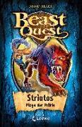 Cover-Bild zu Beast Quest 44 - Striatos, Plage der Prärie von Blade, Adam