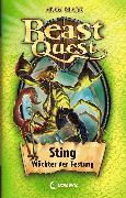 Cover-Bild zu Beast Quest 18 - Sting, Wächter der Festung (eBook) von Blade, Adam