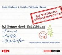 Cover-Bild zu 'Nenne drei Nadelbäume: Tanne, Fichte, Oberkiefer' von Greiner, Lena