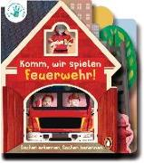 Cover-Bild zu Deine-meine-unsere Welt - Komm, wir spielen Feuerwehr! von Edwards, Nicola
