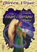 Cover-Bild zu Das Engel-Therapie-Orakel (Kartendeck) von Virtue, Doreen