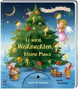 Cover-Bild zu Mein Puste-Licht-Buch: Es wird Weihnachten, kleine Maus von Nömer, Christina