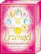 Cover-Bild zu Erzengel - Die Kraft der himmlischen Wesen - Lichtvolle Botschaften für Heilung, Segen und Liebe Kartenset von Kern, Ulrike Annyma
