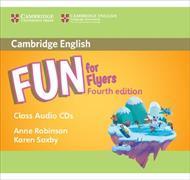 Cover-Bild zu Fun for Flyers Class Audio CDs (2) von Robinson, Anne