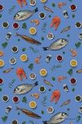 Cover-Bild zu Seafood: Fishmonger Fish Market Pescetarian Daily Notebook Journal Diary Notepad von Books, Dms