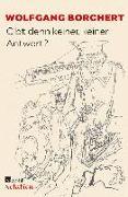 Cover-Bild zu Gibt denn keiner, keiner Antwort? (eBook) von Borchert, Wolfgang