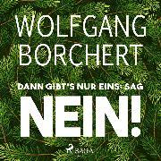 Cover-Bild zu Dann gibt's nur eins: sag NEIN! (Audio Download) von Borchert, Wolfgang