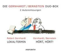 Cover-Bild zu Die Gernhardt /Bernstein Duo-Box (Lokal-Termin, Hört, hört!) von Gernhardt, Robert