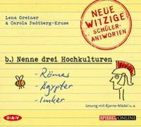 Cover-Bild zu »Nenne drei Hochkulturen: Römer, Ägypter, Imker« von Greiner, Lena