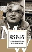 Cover-Bild zu Walser, Martin: Schreiben und Leben: Tagebücher 1979 - 1981
