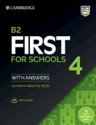 Cover-Bild zu B2 First for Schools 4 Student's Book with Answers with Audio with Resource Bank